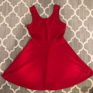 Charolette Russe Red Dress (Worn Once, Small)